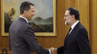 Spain PM Rajoy declines king's offer to form government