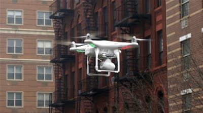 US prepares skies to track recreational drones