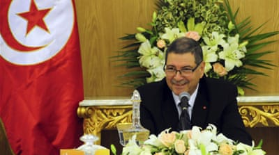Tunisia PM appeals for 'patience' after street protests