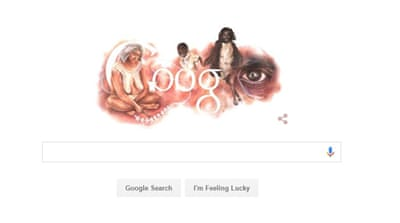 Google said it was proud to publish the doodle focusing on Aboriginals on Australia Day [Google]