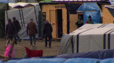 Calais refugee children wait to be allowed into UK