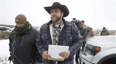 Ammon Bundy lead the armed occupation at the Malheur National Wildlife Refuge [File:Jim Urquhart/Reuters]