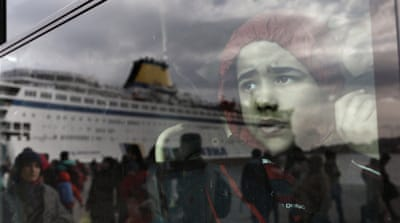 Thousands of refugees continue to arrive on the Greek islands after crossing the Aegean Sea [Yannis Kolesodis/EPA]