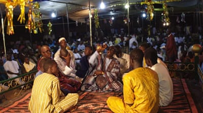 The Mouride brotherhood, founded by Bamba in 1883, is one of the most powerful in Senegal [Joe Penney/Reuters]
