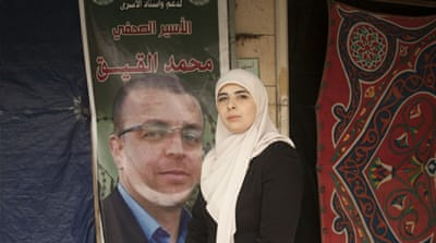 Palestinian hunger strikes: 'My husband is dying'