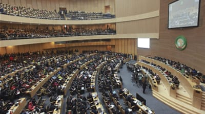 The decision came after a close-door session at the AU where African leaders are meeting for a two-day summit [EPA]