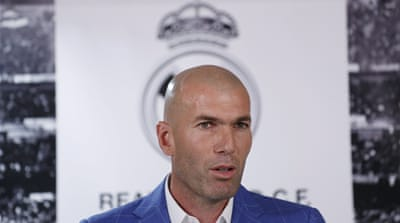 Zidane replaces sacked Benitez as Real Madrid coach