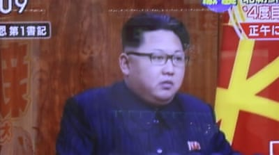 Last month North Korean leader Kim Jong Un suggested his country had the capacity to launch an H-bomb [Eugene Hoshiko/AP]