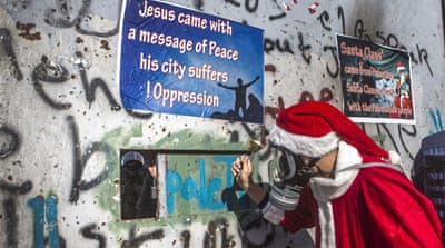 A grim start to the new year in Bethlehem