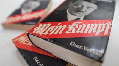 Hitler's manifesto 'Mein Kampf' back in bookstores