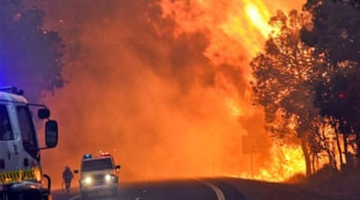 Scientists have warned that climate change could increase the length and intensity of the summer fire season [Reuters]