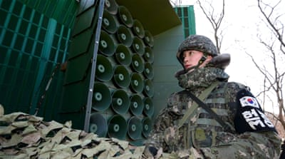 South Korea resumes anti-North broadcasts