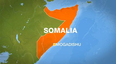Map of Somalia and the capital Mogadishu [Al Jazeera]