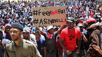 South Africa: University fee protests turn violent