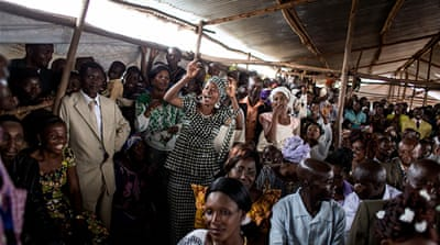 In Burundi, a mass wedding celebration for DRC refugees