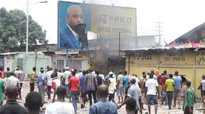 HRW warns of government repression in advance of DRC elections