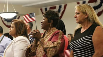New citizens in Florida rush to register to vote