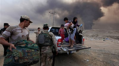 As many as one million Iraqis may flee their homes in Mosul as the major military operation rages on [File: Reuters]