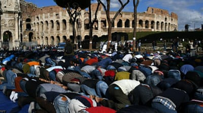 Islam is not recognised as an official religion in Italy [Reuters]