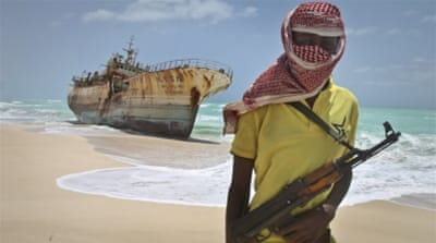 The sailors were held in Dabagala, northeast of the capital Mogadishu [Farah Abdi Warsameh/AP]