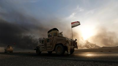 Fierce battles are raging on multiple fronts as Iraqi forces push closer towards Mosul [Thaier Al-Sudan/Reuters]
