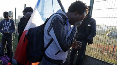 Evacuation of Calais' Jungle camp comes to an end