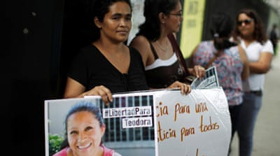 El Salvador: Maria Teresa Rivera jailed and freed