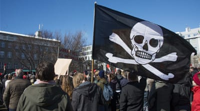 Iceland may become first nation ruled by 'pirates'