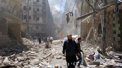 Aleppo has been, for years, split between a government-held western sector and the rebel-held east [Reuters]