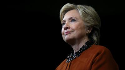 Hillary Clinton rose to power, stumbled before end goal