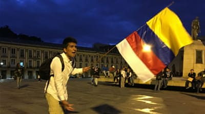 Colombians divided after voters reject FARC peace deal
