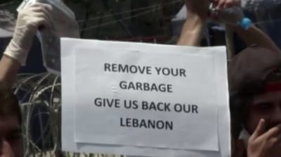 How does Lebanon''s political sectarianism factor into reporting on the rubbish crisis [Al Jazeera]