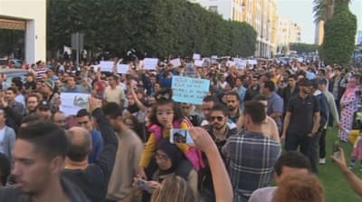 Morocco Protests AJE [Daylife]