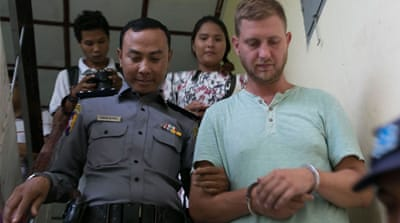 Myanmar jails Dutch man for disrupting Buddhist sermon