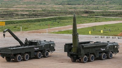 Russia moves nuclear-capable missiles to NATO doorstep