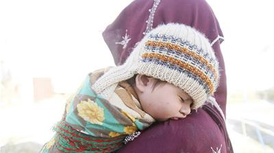 A hard winter: Afghan refugees return from Pakistan