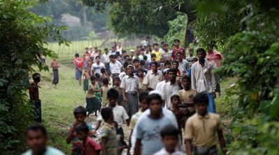 Thousands of Rohingya refugees have crossed into Bangladesh by boat in recent weeks [File: Mohammad Ponir Hossain/Reuters]