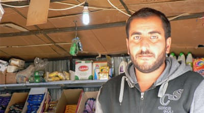 The man who serves up little smiles in Iraq's refugee camp