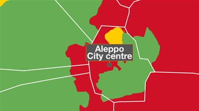 Aleppo: Who controls what