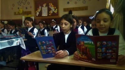 West Bank: Reading for fun in Palestine