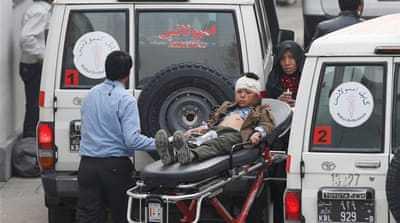 Deaths as suicide bomber attacks Shia mosque in Kabul