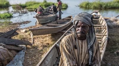 Displaced refugees fear more loss as Lake Chad shrinks