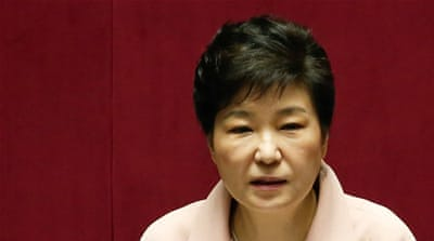 Prosecutors say Park colluded in the criminal activities of a longtime confidante to manipulate government affairs [Reuters]