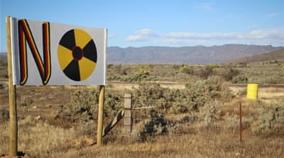 Australian nuclear waste dump divides tiny outback town