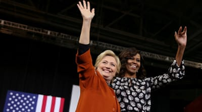 Hillary Clinton and the 'woman card'