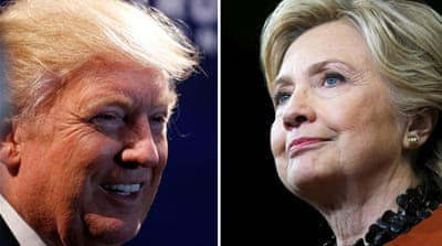 Clinton's long political CV makes her a recognisable face for Afghans, but many here view Trump negatively [Reuters]