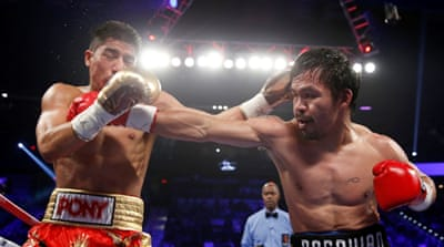 Manny Pacquiao seals comeback win in the ring