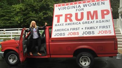 Trump vs Clinton: Virginia campaigners make last push