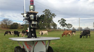 Robots lending a helping hand on Australia's farms