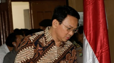 Jakarta governor Ahok stands trial for blasphemy